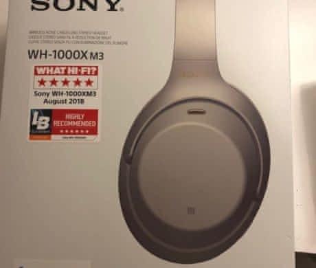 sluchátka Sony WH-1000mx3