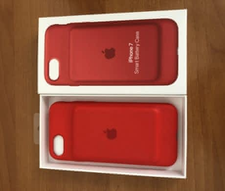 Battery Case Product Red iPhone 7/8