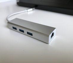 USB HUB – USB 3.1 , gigabitethernet