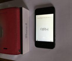 iPhone 4, 16 GB, černý