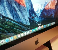 "Apple iMac 24"", OS X El Capitan"