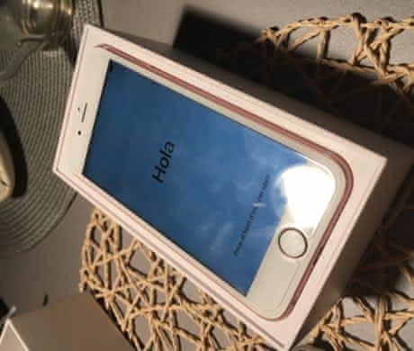 iPhone 6s Rose Gold 16 gb