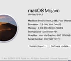 MacBook Pro 13 2016, touchbar, 256 gb