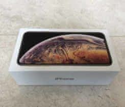 NOVÝ .IPHONE XS MAX / 256 GB -GOLD