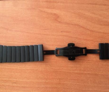 Pásek z nerezové oceli 42mm Black