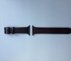 Kožený řemínek na Apple Watch