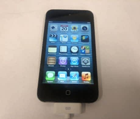 iPod Touch 4. generace, 8 GB