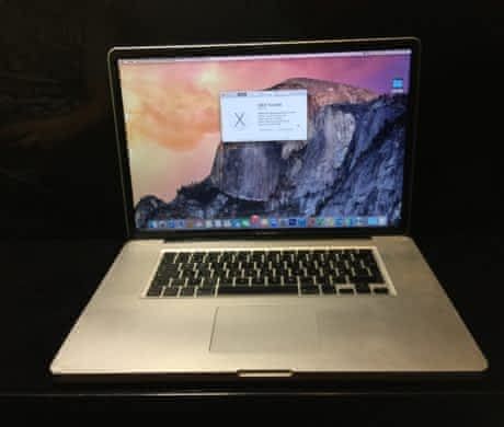 "MacBook PRO 17""/C2D/4GB/500GBHDD/16"