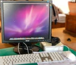 Mac mini, klávesnice, myš, monitor