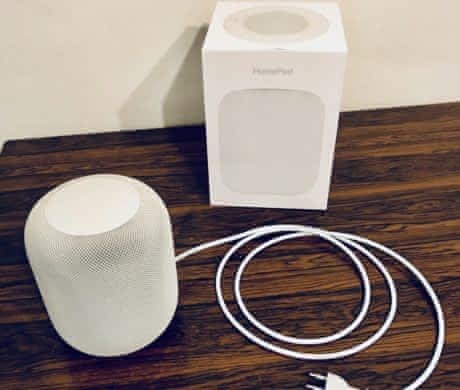 Apple, HomePod, Repro, smart home.