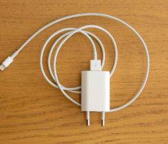 5W  adaptér Apple USB + USB lightning 1m