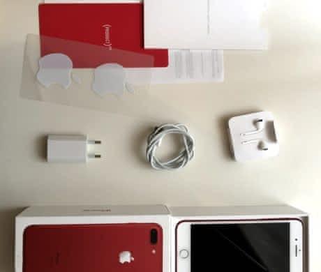 iPhone 7 Plus 128gb RED jako nový