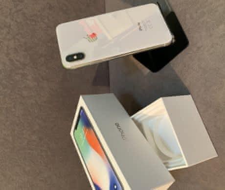 iPhone X 64gb – Silver