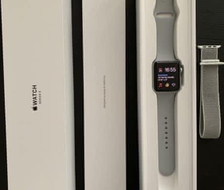 Apple Watch 42 mm Silver