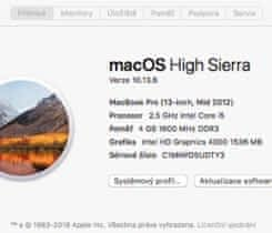 MacBook Pro Mid 2012, 2x 500 Gb