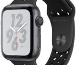 Apple Watch Series 4, Space Gray + Black