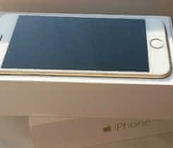 Apple iPhone 6, Gold, 3x sklo, obal