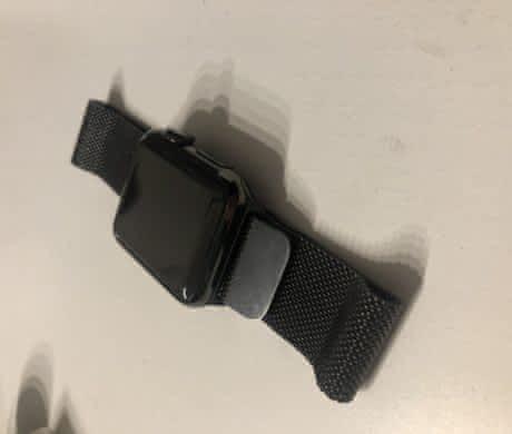 Apple watch 38mm ocel -nové záruka