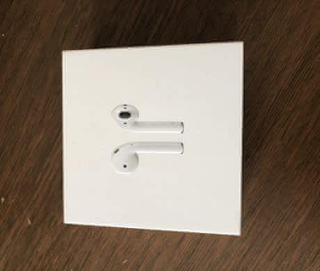 Airpody bez nabíjecí krabičky