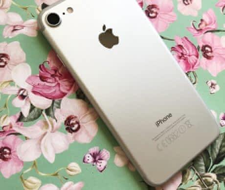 iPhone 7, 128 GB, silver