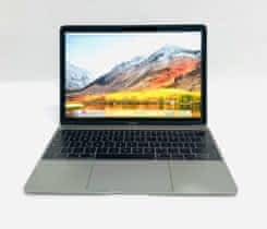 Macbook 12, Space Gray, M, rok 2015, 8GB