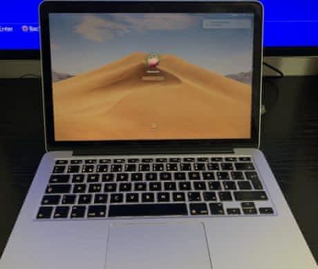 Apple MacBook Pro mid 2014, 256 GB