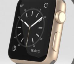 prodám Apple Watch s.2 gold – 100% stav