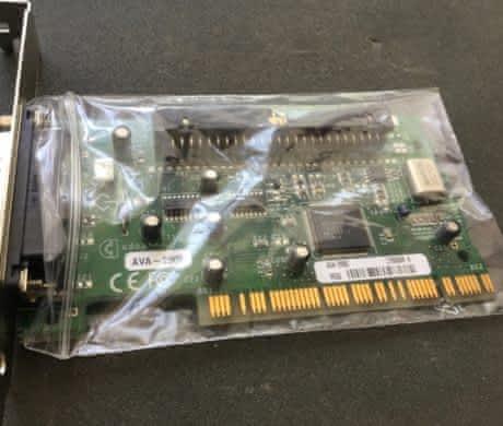 PCI řadič SCSI do Power Macintosh