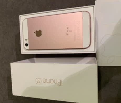 iPhone SE 64gb – Rose gold
