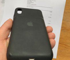 iPhone XS Max Smart Battery Case černé
