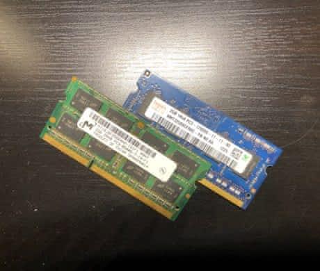 Prodám 2x 2GB 1066 Mhz operační paměti