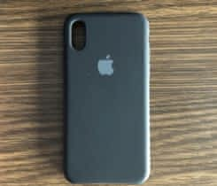 Originální kryt Apple iPhone X/Xs černý