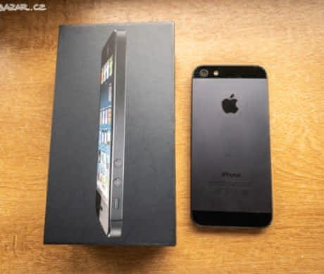 iPhone 5, 16 GB, 100% funkční, černý