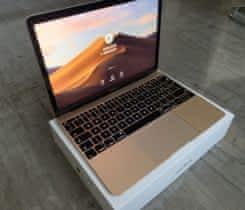 """Apple Macbook 12"""" gold jako nový – záruk"""