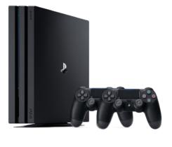 PlayStation 4 Pro 1TB + 2xGamepad