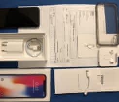 iPhone X 64 GB stříbrně šedý, dobrý stav