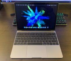 """Zánovní Apple MacBook 12"""" 1,3GHz / 8GB /"""