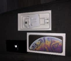 iPhone XS MAx 64GB Silver top stav