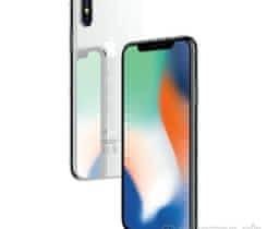iPhone X 256 silver – TOP stav+puzdra
