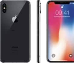 iPhone X 64 GB, space gray + kryty