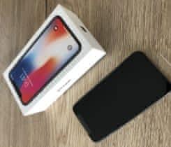 iPhone X 64GB Space Gray, nový, záruka