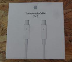 Thunderbolt kabel (2m)