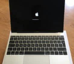Macbook 12, vesmirne sedy, bezproblemovy