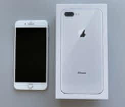 iPhone 8 Plus, Silver, 64 GB včetně obal