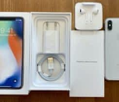 Prodám iPhone X Silver 256GB v záruce