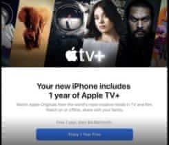 Apple TV+ předplatné na 1 rok