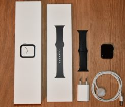 Apple Watch 4 – 44mm, kovové, LTE