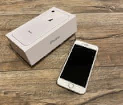 Apple iPhone 8 64 GB Silver, stav 10/10