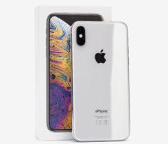 iPhone XS 64GB Silver – 4 měsíce starý