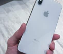 iPhone XS Max 256GB Silver | ZÁRUKA 1rok